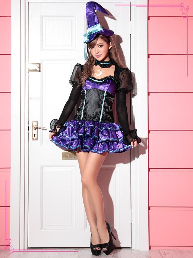 ハロウィン コスチューム コスプレ衣装 魔女 魔法使い セクシー