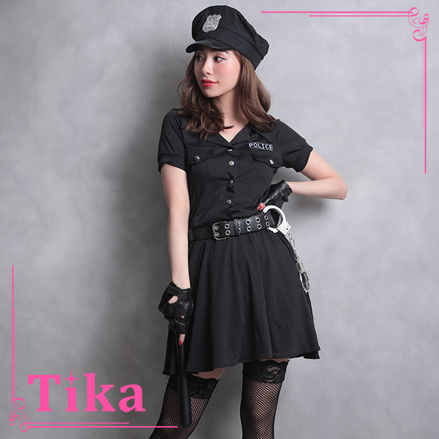 tika ティカ コスプレ 衣装 costume ポリス 警官