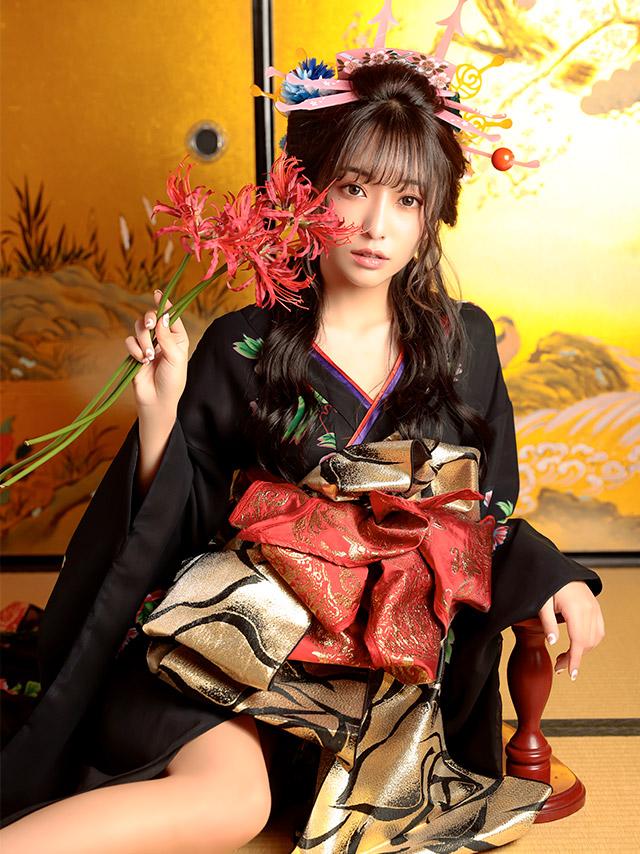 花魁コスプレ和装ドレスコスチュームセット