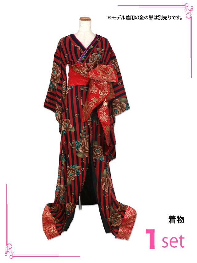 花魁コスチューム衣装のセット内容
