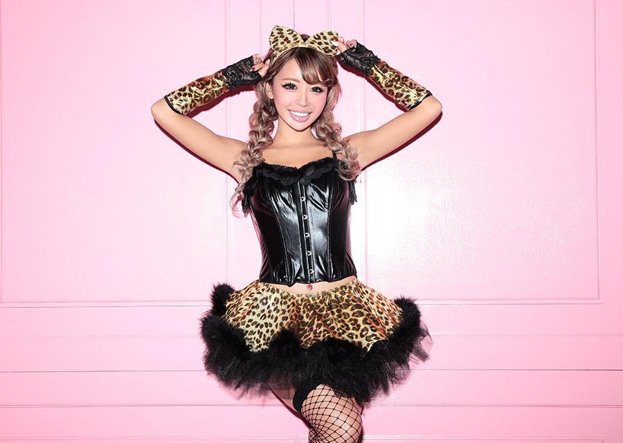 ハロウィン コスプレ 衣装 セクシーアニマル 女豹