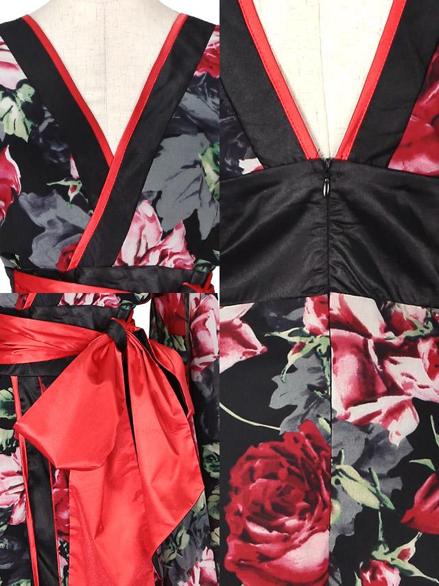 花魁ドレスのディティール 商品詳細