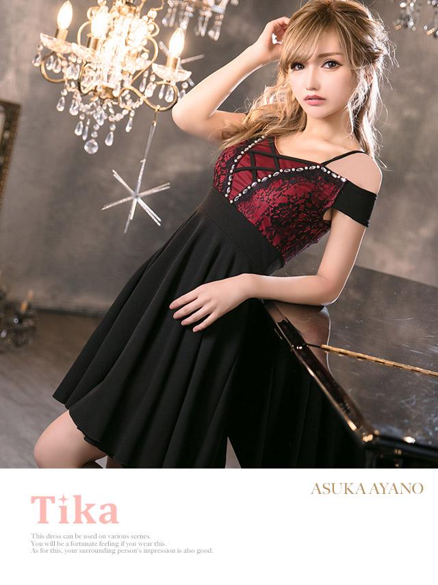 キャバ嬢綾野あすかが着る新作キャバドレス