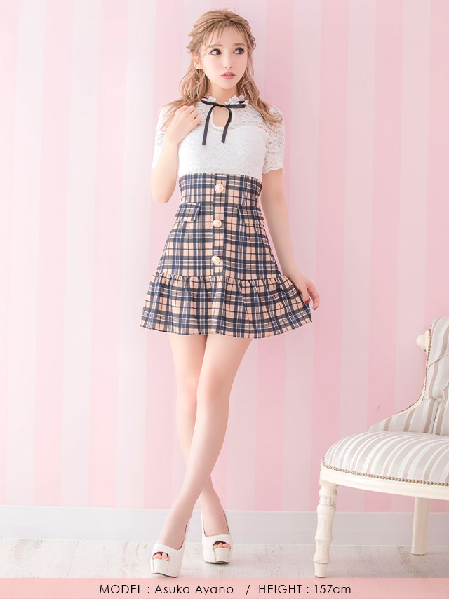 キャバ嬢ゆめが着る新作韓国キャバドレス