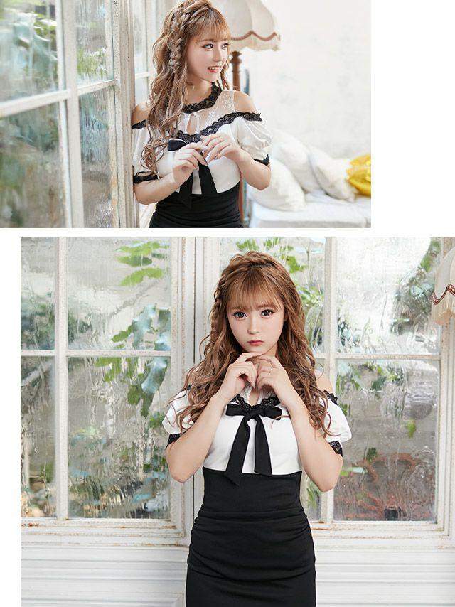 聖菜が着る新作韓国キャバドレス
