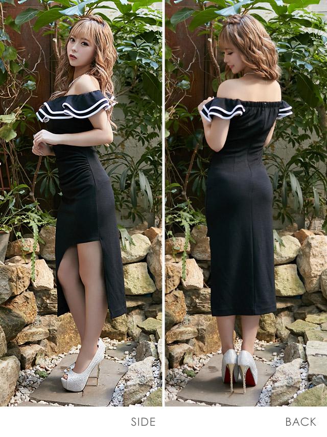 聖奈が着る新作韓国キャバドレス