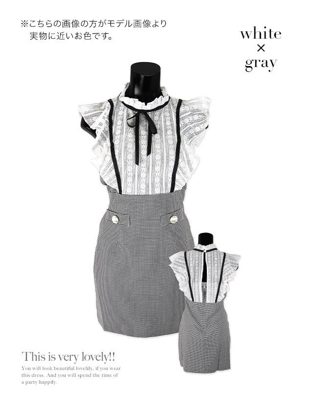 マネキン着用の韓国ドレス