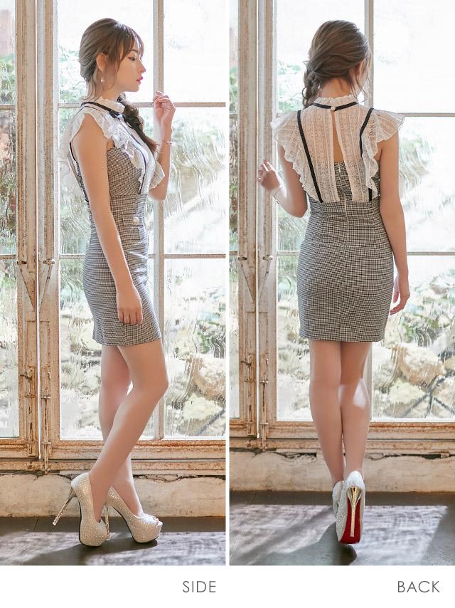 黒崎みさが着る韓国ドレス