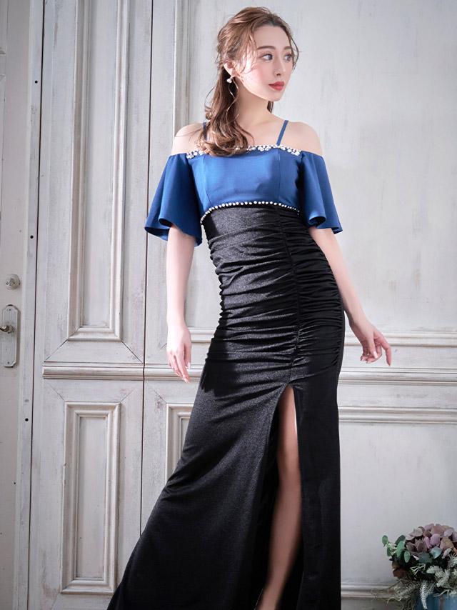 久保七瀬が着る新作ロングドレス