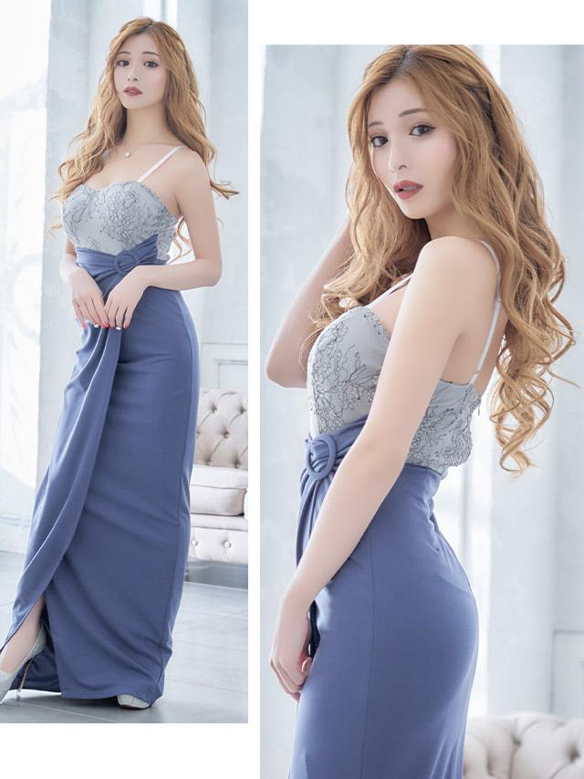 キャバ嬢みゆうが着る新作ロングドレス