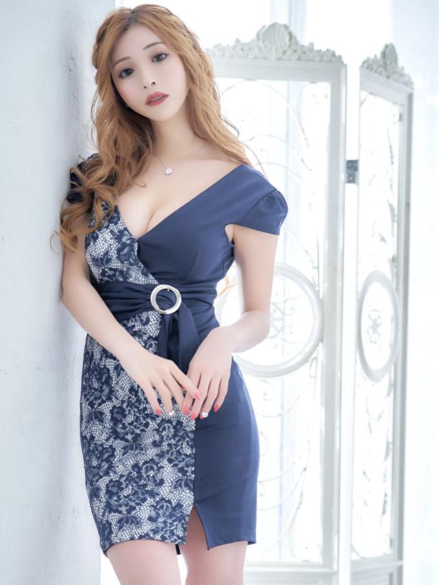 現役キャバ嬢みゆうちゃんが着る新作キャバドレス