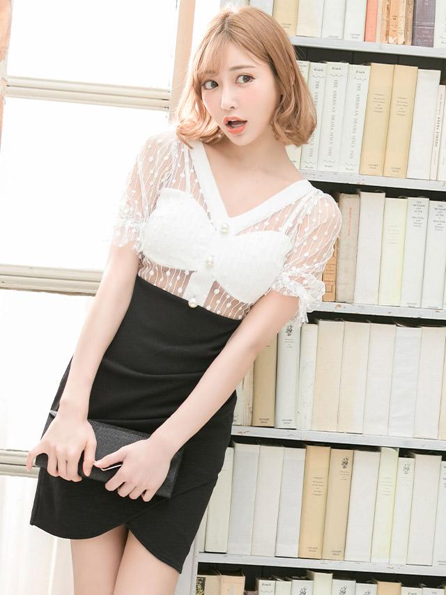 明日花キララが着る新作韓国キャバドレス