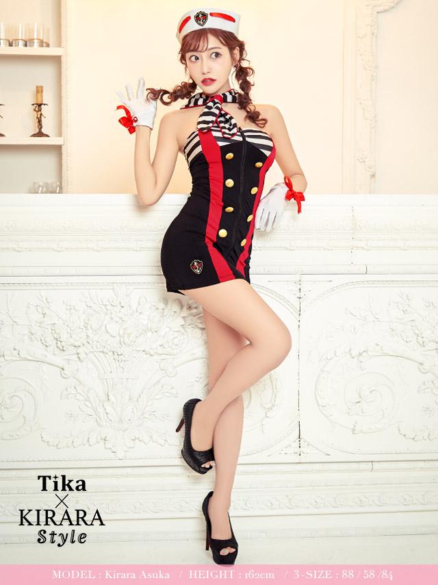 tika ティカ コスプレ 衣装 costume マリン ガール 水兵 セクシー