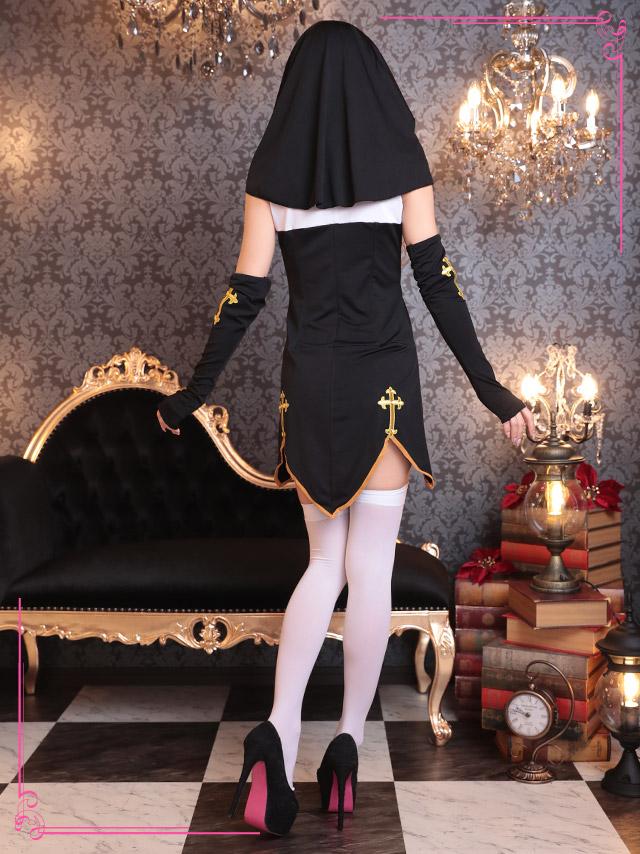 tika ティカ コスプレ 衣装 costume シスター 修道女 セクシー