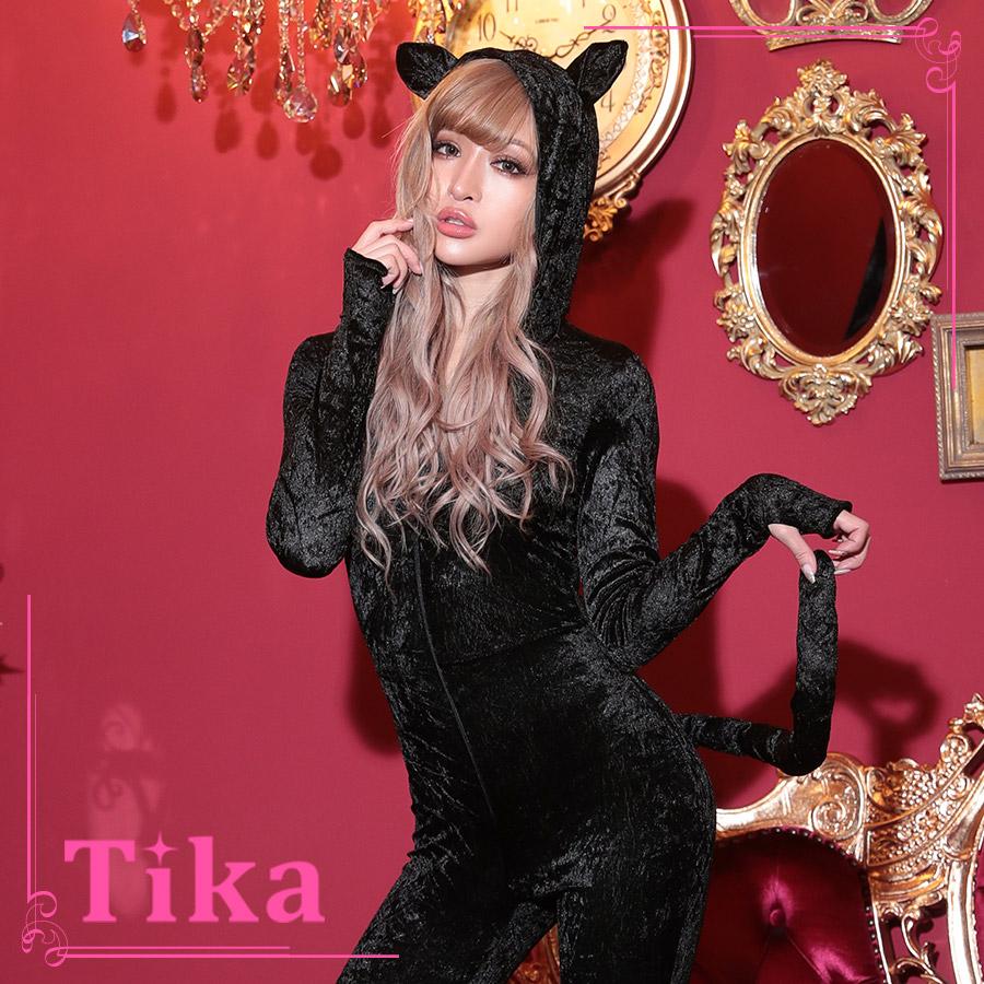 tika ティカ コスプレ 衣装 costume アニマル 黒猫 キャット セクシー