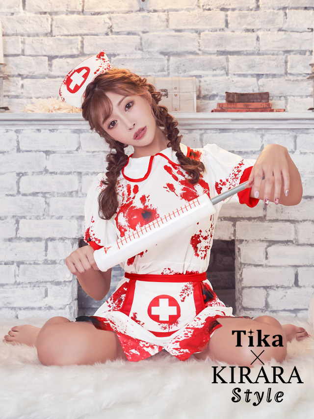 tika ティカ コスプレ 衣装 costume ナース ゾンビ 明日花キララ セクシー