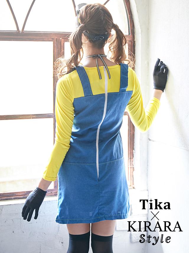 Tikaティカ 可愛いコスプレ衣装 ミニオンズ 怪盗グルー