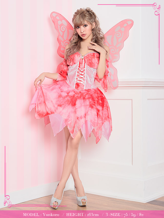 tika ティカ コスプレ 衣装 costume 蝶 バタフライ ラブリー フェアリー Sugar Plum fairy 妖精 可愛い