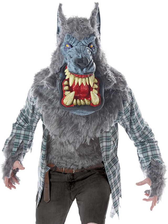 tika ティカ コスプレ 衣装 costume メンズ 狼 被り物 マスク