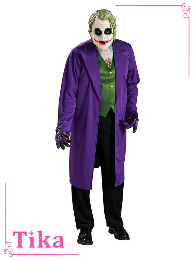 tika ティカ コスプレ 衣装 costume メンズ バッドマン ダークナイト スーサイド・スクワッド ジョーカー joker dcコミック