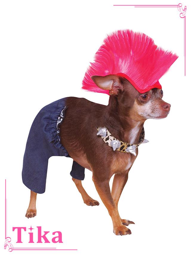 tika ティカ コスプレ 衣装 costume ペット ドッグ パンクロック 可愛い