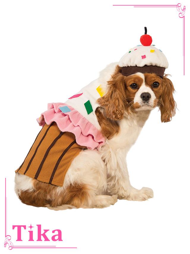 tika ティカ コスプレ 衣装 costume ペット ドッグ カップケーキ 可愛い