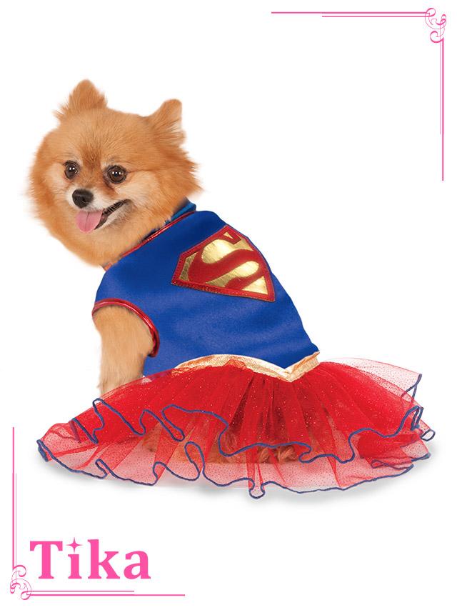 tika ティカ コスプレ 衣装 costume ペット ドッグウェア スーパーマン