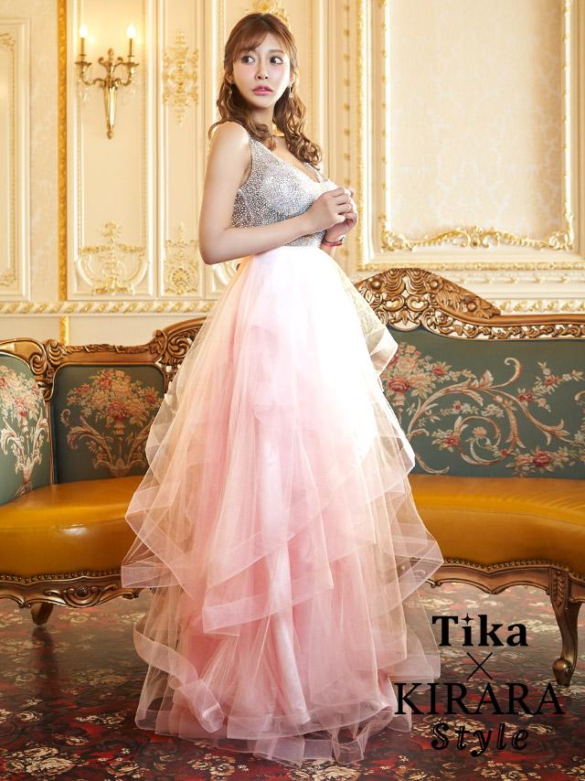 tika ティカ キャバドレス 可愛い 明日花キララ ドレス