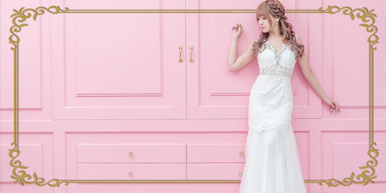 キャバ嬢さんのマーメイドロングドレス