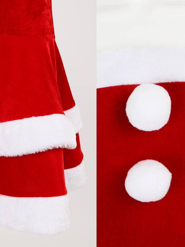 tika ティカ コスプレ 可愛い セクシー 衣装 サンタ コスチューム coutume クリスマス 商品詳細 ディテール