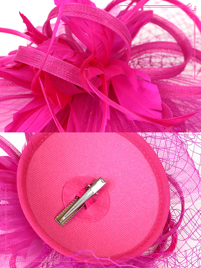 4d1ca3d1b8b7e Tika ティカ フェザー付きチュールヘッドドレス コスプレ 小物