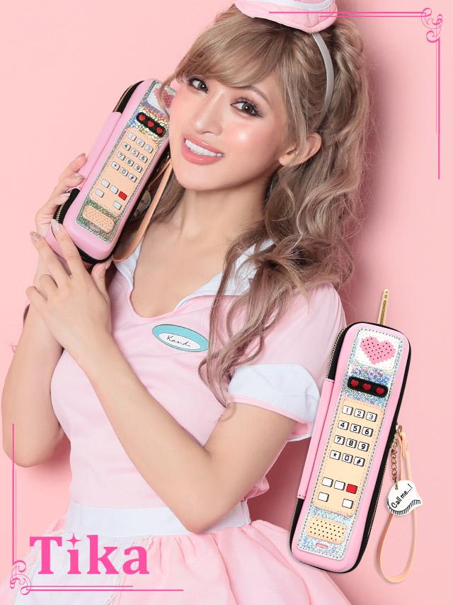 ケータイ電話デザインバッグ コスプレ 小物