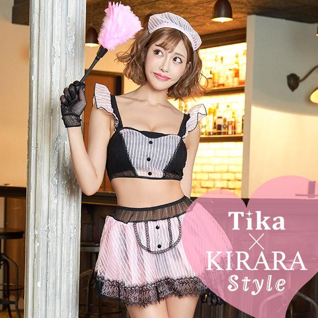 tika ティカ コスプレ 衣装 costume メイド ビッチ セクシー 明日花キララ セクシー