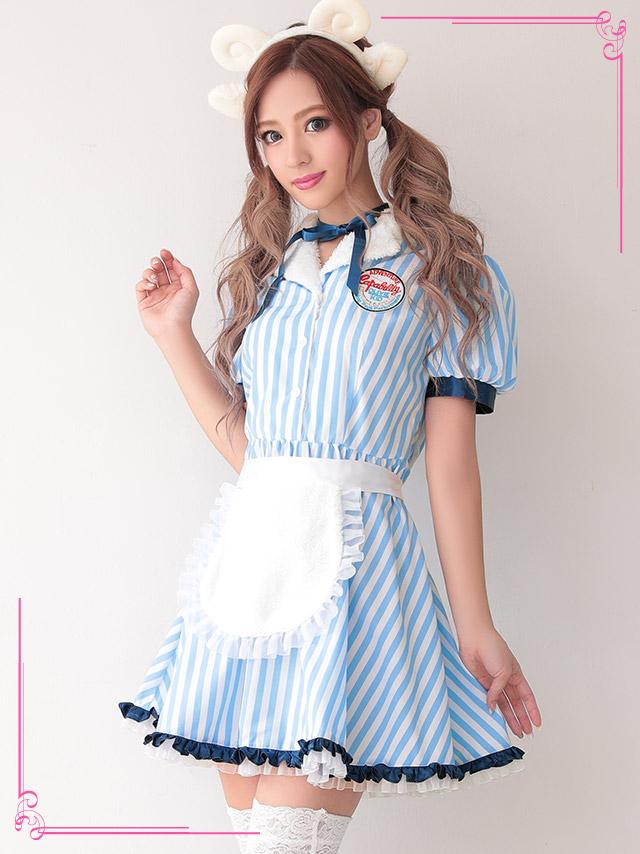 tika ティカ コスプレ 衣装 costume 可愛い Cute ウエイトレス ひつじ アニマル