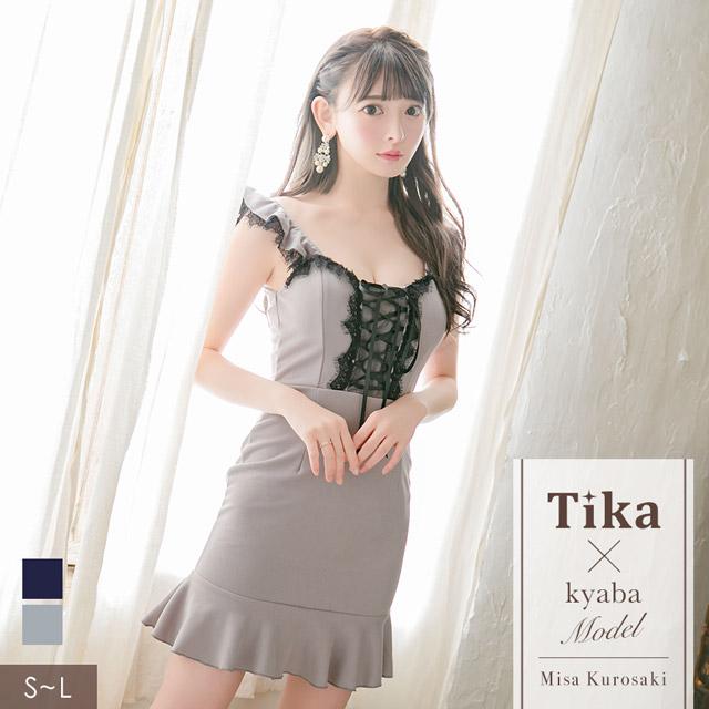 黒崎みさが着る新作キャバドレス
