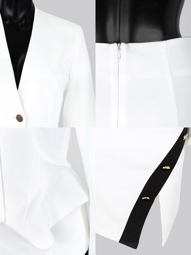 新作セットアップスーツドレスの商品詳細 ディテール